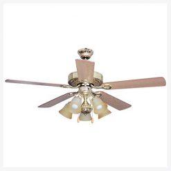 พัดลมเพดานมีโคมไฟ รุ่น ML-04-5L-PB