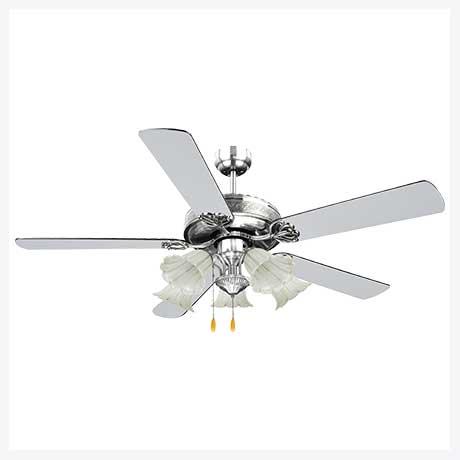 พัดลมเพดานมีโคมไฟ รุ่น ML-552-5L-NC